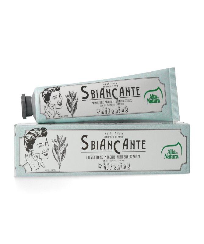 dentifricio sbiancante