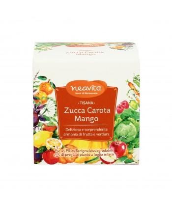 zucca carota e mango