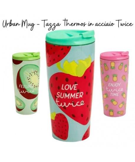 Urban Mug - Tazza thermos in acciaio Twice